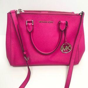 Michael Kors Hot Pink Selma Handbag